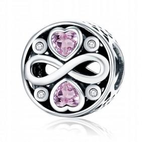 Charms różowy Nieskończoność 925 do Pandora Apart