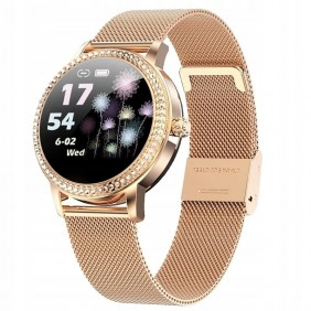 Smartwatch damski LW20 Gold...