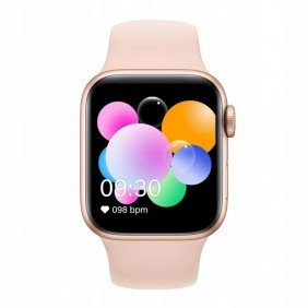 Smartwatch Watch T500 Pulsometr Kroki Fitness Różowy