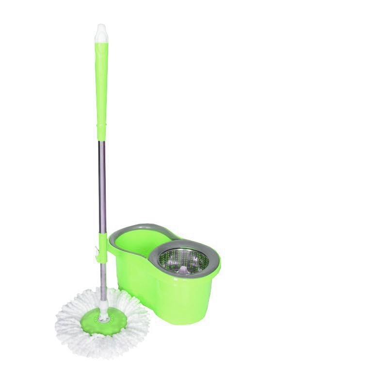 Mop płaski obrotowy rotacyjny ściereczka Vileda zielony