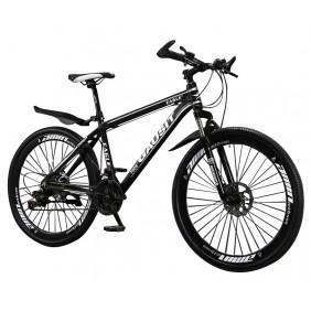 """Rower górski Gausit Eagle MTB 27,5"""" aluminiowa rama - Czarno-biały"""