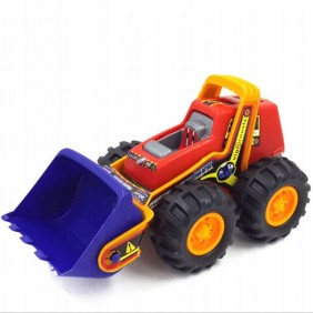 Spychacz duży czerwony piaskownica Mocna zabawka