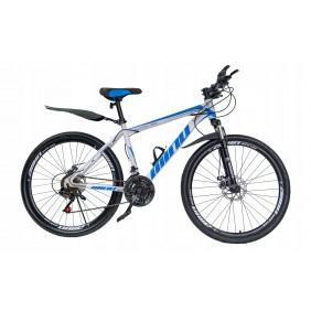"""Rower Górski MTB Minu Biało-niebieski 26"""""""