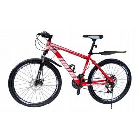"""Rower Górski MTB Minu Czerwono-biały 26"""""""
