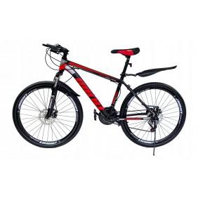 """Rower Górski MTB Minu Czarno-czerwony 26"""""""