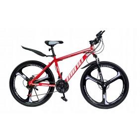"""Rower Górski MTB Minu Czerwono-biały 26"""" 3R"""