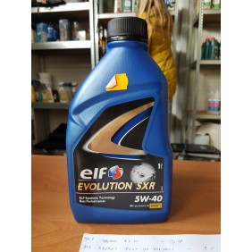 ELF EVOLUTION SXR 5W40 1L