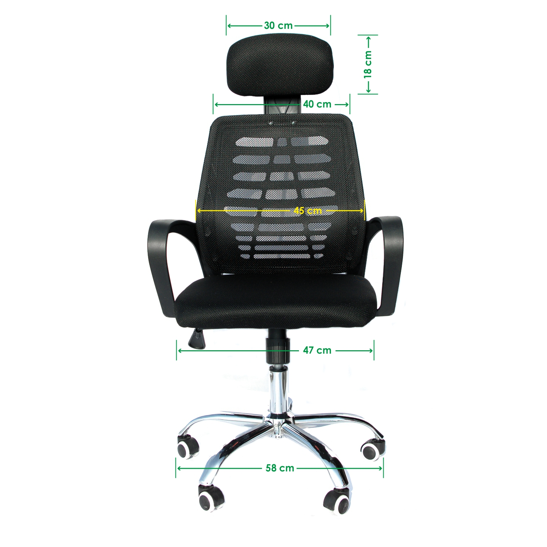 Fotel biurowy Ergonomiczny obrotowy mikrosiatka